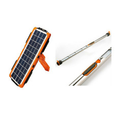 Doble Solar Panel 5Wp + Illuminated Tent Pole SCS100P for camping, campers