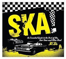 SKA TRILOGY 3 CD NEU DENNIS BROWN/DILLINGER/SUGAR MINOTT/ZAP POW/JIMMY OSBORNE