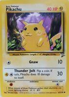 Pikachu 87/130 Base Set 2 Englisch NM