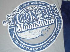 Moon Pie Moonshine Chocolate Alc 25% by Vol 50 Proof T-Shirt Adult Small
