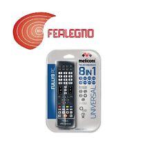 TELECOMANDO UNIVERSALE DVD TV DECODER SKY PS2 XBOX360 PVR MELICONI ART.808002