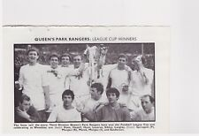 Team Pic from 1967-68 FOOTBALL Annual - COVENTRY CITY + QUEENS PARK RANGERS Cup