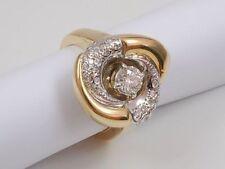 Handgefertigter Echtschmuck mit SI Reinheit Ringgröße 53 (16,8 mm Ø) Ringe