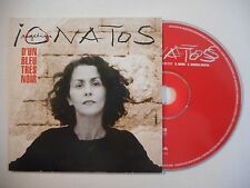 ANGELIQUE IONATOS : D'UN BLEU TRES NOIR ▓ CD SINGLE PORT GRATUIT ▓