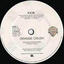 REM ORIG OZ 45 Orange crush EX '88 Warner 727652 Alt Rock Michael Stipe
