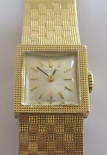 Vintage International Watch Co 9ct yellow gold 1965 ladies manual bracelet watch