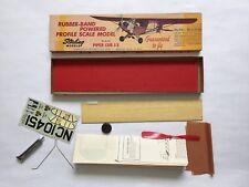 Sterling Piper J3 Cub Vintage Rubber Powered Profile Free Flight Balsa Model Kit