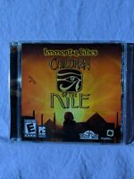 Children Of The Nile - Immortal Cities CD-ROM Video Game (2004, Tilted Mill)