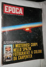 EPOCA 611 10 giugno 1962 Carpenter Achille Lauro Eichmann Voghera Russia Algeria