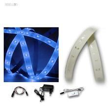 (12,49€/m) LED Lichtband Komplett-Set Blau, 1,2m, 60 SMD, Lichterband, Streifen