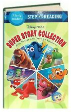 Step Into Reading Disney Pixar  7in1 Nemo,Inside Out,Good Dinosaur FREE ship $35