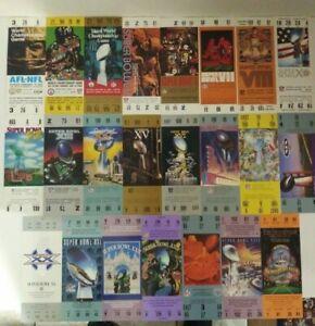 1994 COCA-COLA CIRCLE K SUPER BOWL TICKET REPLICA SET missing 70, 75, 77, 89, 93