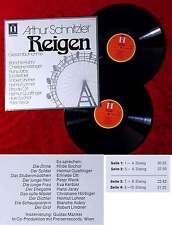 2LP Arthur Schnitzler: Reigen - Gesamtaufnahme (Heliodor 2759 001) D