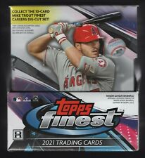 2021 Topps Finest Hobby Baseball Factory 2 Autos in Hand