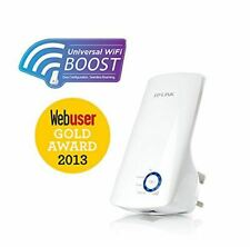 TP-Link TL-WA850RE 300Mbps Universal Wall Plug Range Extender/Booster High Speed