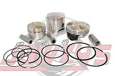 Wiseco PK1844 77.00 mm 13.5:1 Compression Motorcycle Piston Kit with Top-End Gasket Kit