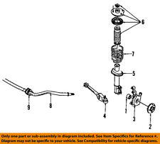 Saturn GM OEM 91-02 SL2 Stabilizer Sway Bar-Front-Bushings 21011235