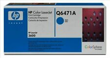 HP Q6471A Cyan Genuine Toner Cartridge NEW SEALED