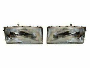 For 1989-1995 Plymouth Acclaim Headlight Assembly Set DIY Solutions 36859MP 1990