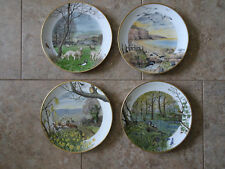 Country Year Plates by Peter Barrett English Countryside Vintage 1979 Set of 12