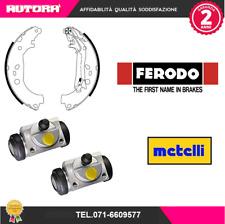 KIT40-G 4 ganasce freno post+2 cilindretti freno (FERODO,METELLI)