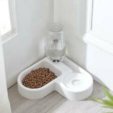 Automatic Cat Bowl Food Drink Dispenser Dog Feeder Water Bowl Dish Supplies