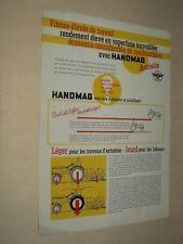 Prospectus HANOMAG Antislip Prospekt Tracteur Tractor Traktor Trattori Brochure