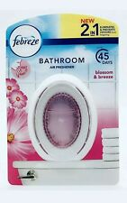 FEBREZE BLOSSOM BREEZE 2 IN 1 BATHROOM AIR FRESHENER 7.5ML ODOUR CLEAR PINK