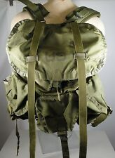 EARLY 80'S U.S. ARMY ISSUE OLIVE GREEN FIELD PACK