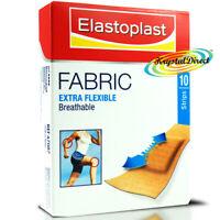 Elastoplast Fabric Extra Flexible Breathable Wound Cushion 10 Plasters