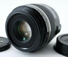 NEAR MINT Canon EF-S 60mm f/2.8 AF USM MACRO Lens w/ Caps SEND FROM JAPAN FedEx.