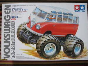Tamiya 1/12 RC Volkswagen Wheelie VW Bus Type 2 (T1)  WR-02