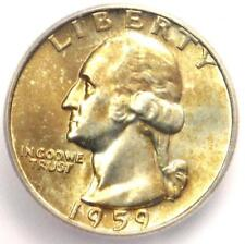 1959-D Washington Quarter 25C - Certified ICG MS67 - $880 Guide Value in MS67!