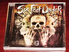 Six Feet Under: 13 CD 2005 Thirteen Metal Blade Records USA 3984-14527-2 NEW
