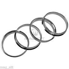 4 Anelli Centraggio Alluminio 60,1 - 57,1 Audi VW Skoda Seat fatto Germania