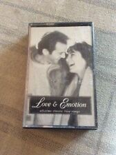 MUSIC CASSETTE LOVE AND EMOTION - ALL TIME CLASSIC LOVE SONGS