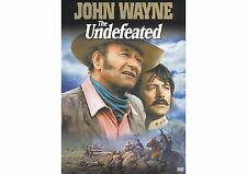 THE UNDEFEATED DVD John Wayne and Rock Hudson, New-Widescreen  Free Shipping