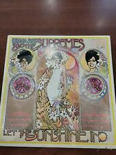 Diana Ross and Supremes - Let the Sunshine In  (Motown S-689)/ LN, Shrink Wrap
