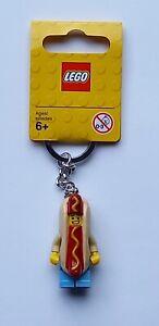 LEGO Hot Dog Suit Guy Keychain/Keyring - Series 13 Minifigure 853571 (Retired)