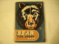 Bear Cub Scout Book 1948 GC 166B