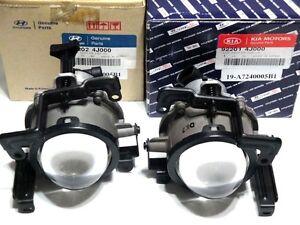 OEM Glass Fog Driving Light Lamps w/Light Bulbs One Pair Fit 2007 2008 Entourage