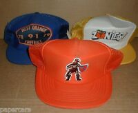 West Orange High School Warriors Winter Garden FL Vintage Mesh Hat Lot football