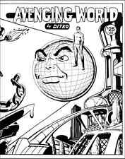Ditko Avenging World [240 pages: comics, essays1969-2002]
