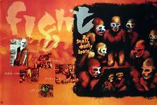 Judas Priest Rob Halford Fight 1985 Rare Promo Poster