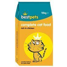 bestpets cat food complete chicken large 10 kg bag