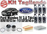 KIT TAGLIANDO FORD MONDEO IV 2.0 TDCI 115/136/140CV - Spedizione Inclusa!!