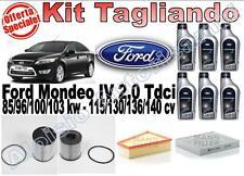KIT TAGLIANDO FORD MONDEO IV 2.0 TDCI 115/130/136/140CV - Spedizione Inclusa!!