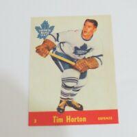 1992-93 Parkhurst Parkie Reprints #PR-16 Tim Horton Toronto Maple Leafs