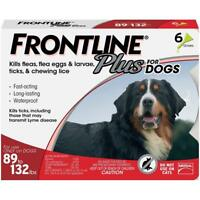 Frontline Plus for Extra Large Dogs 89-132 lbs - 6 month - Genuine EPA Approved!