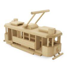 NEW CHILDRENS Historical Wooden Tram - Nero